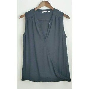 💰3/20$💰REITMANS Black faux wrap camisole